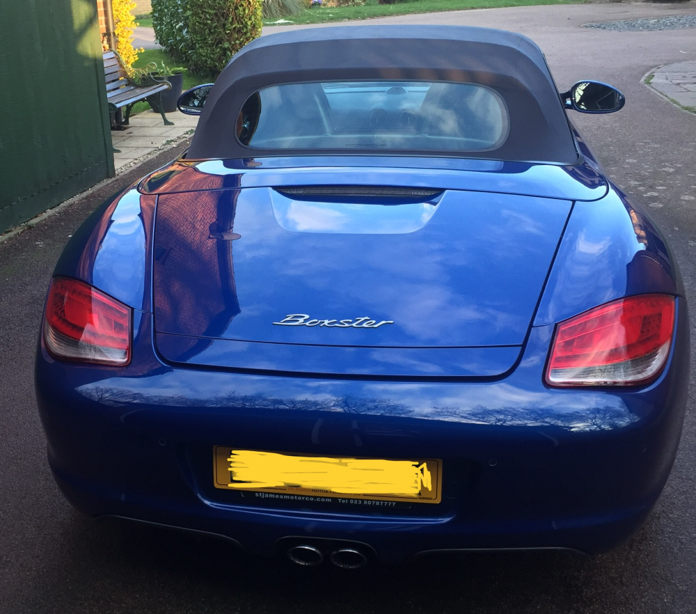 Boxster 987 G2 2.9 For Sale In RG40 4PG, First Listed 02