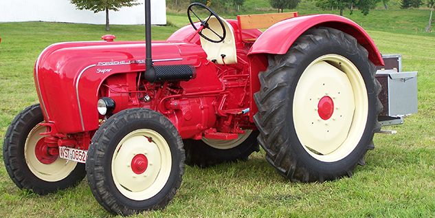 Porsche Tractor Porsche Club Great Britain