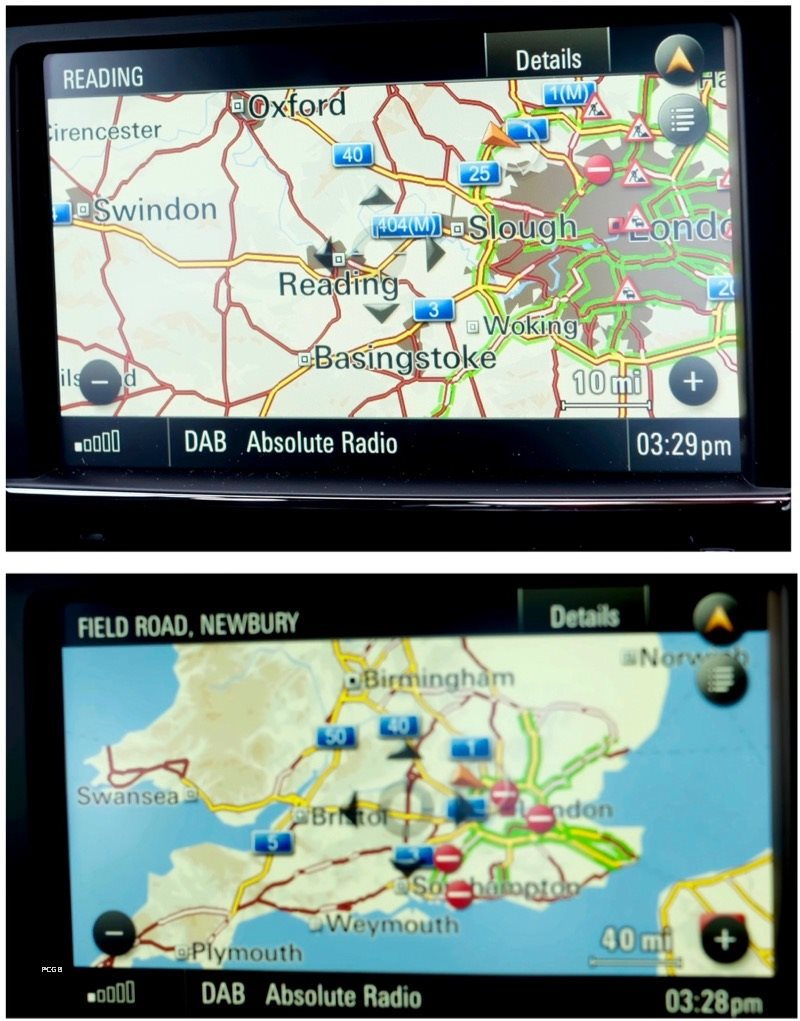 Real Time Traffic Information Via Online Services