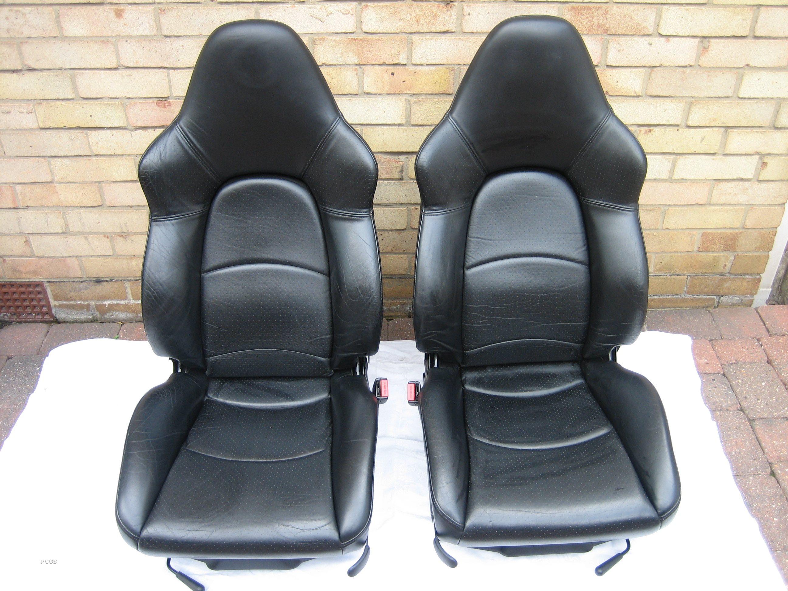 For Sale Black Leather 993 Hardback Sport Seats