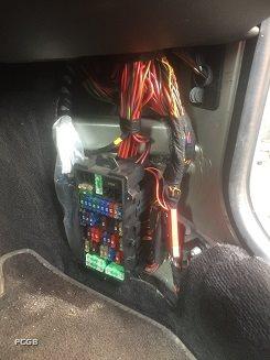 Emergency Bonnet Release In Fuse Box