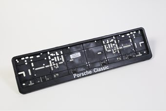 Porsche Classic Number Plate Surround