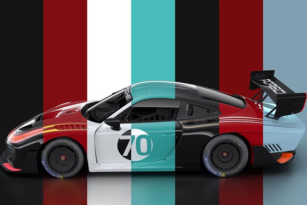 Custom liveries for the new 935