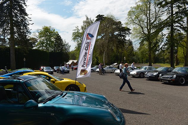 Region 13 Concours at Chateau Impney