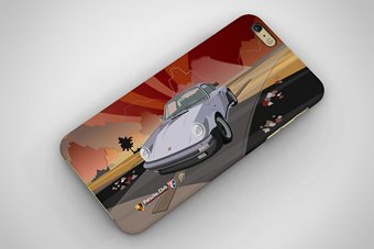 Porsche 911 Turbo 1975 Phone Case