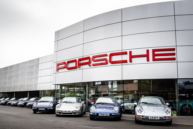 993 Technical Seminar with Porsche Centre Swindon