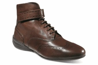 Campione Brown Leather Shoe