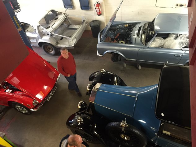 Heritage Classics Workshop Visit March 2016