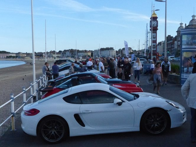 Weymouth Porsche on the Prom 2017