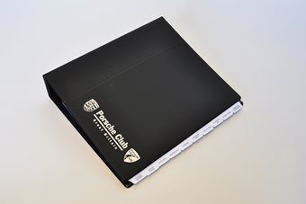 Black Nero Document Binder