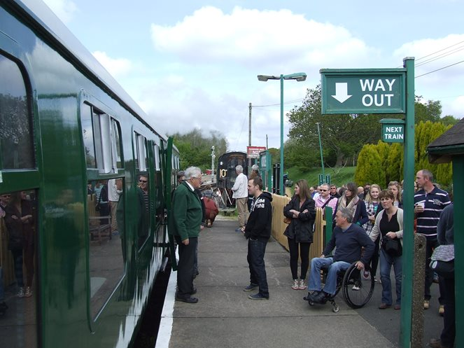 Swanage Railway day out