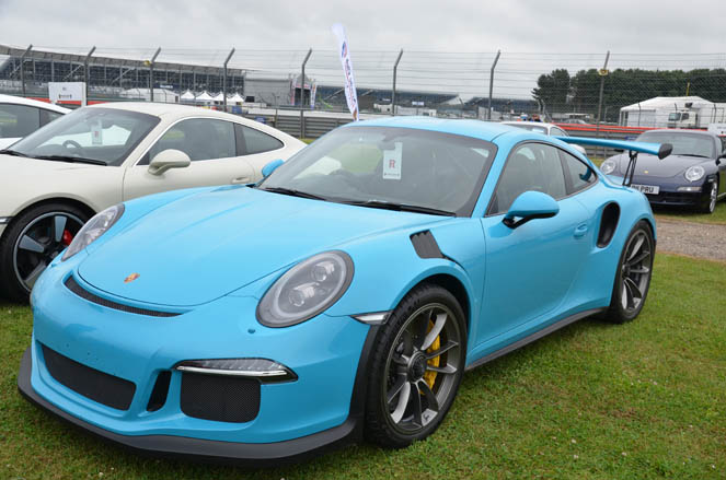 991 Register at the Silverstone Classic