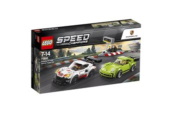Lego Porsche 911 RSR and 911 Turbo