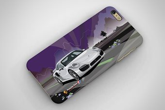 Porsche 911 Turbo 2017 Phone Case