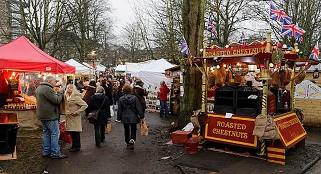 Harrogate Christmas Market November 2016