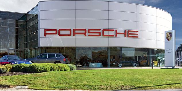 Porsche Centre Swindon visit