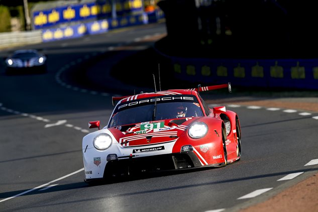 Porsche set to start Le Mans from pole