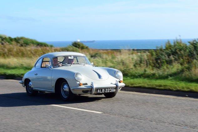 Porsche Club Scotland North News Club 356 Visit To Aberdeen