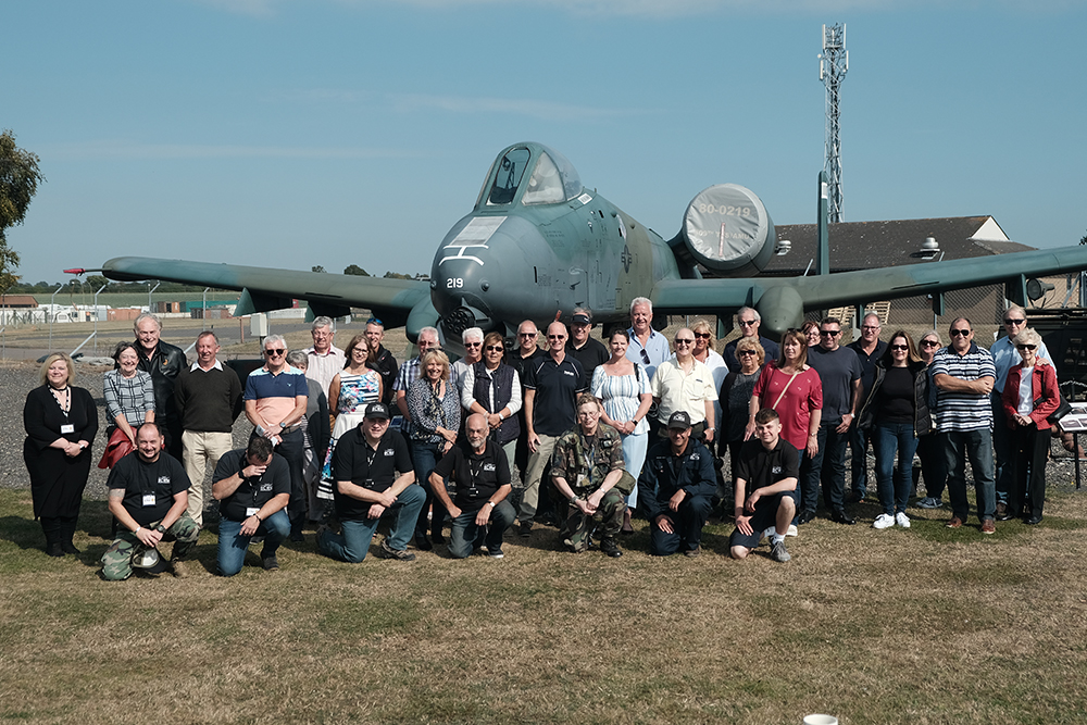 2019 Bentwaters Cold War Museum visit