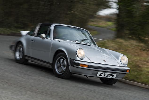 Issue 40 Deagostini Porsche Model Collection Porsche 911 Targa REPAIRED