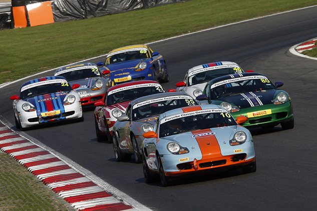 Popular Porsches Double Up at Brands Hatch