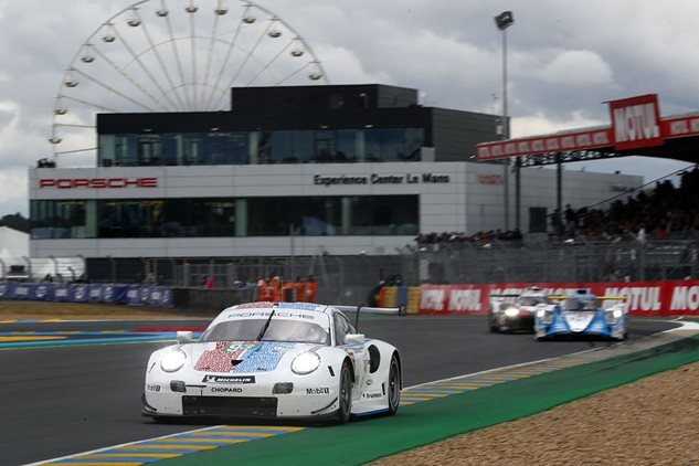 Fourth place start for Porsche at Le Mans
