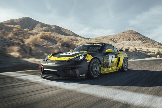 New Cayman GT4 Clubsport