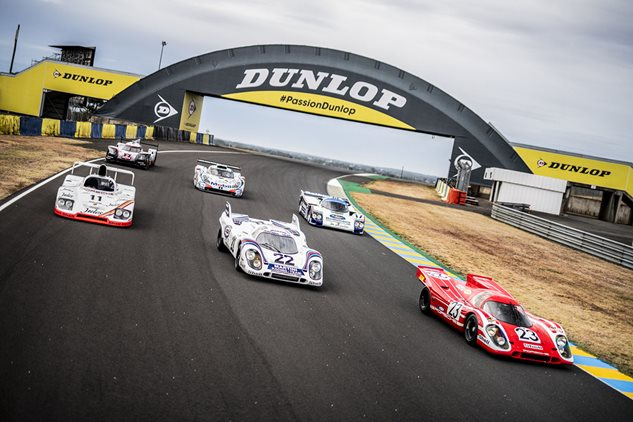 Gathering of the greats at Le Mans
