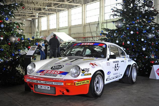 A Porsche Christmas at Bicester Heritage