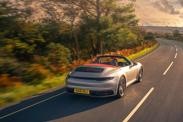 Can the 911 Cabriolet face the UK winter?