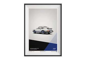 Porsche 911 Carrera 2.7 RS Poster – White