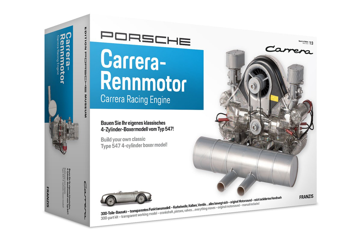 Porsche 4-cylinder Carrera Model Engine Kit