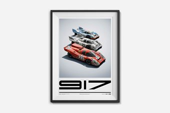 Porsche 917 Poster – Collection