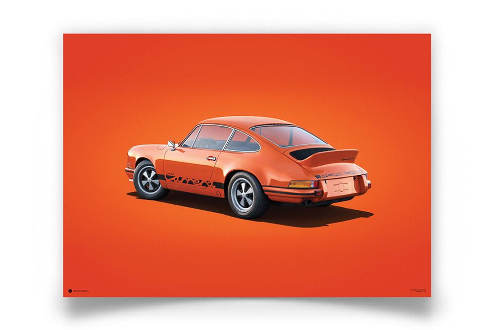 Porsche 911 RS Tangerine