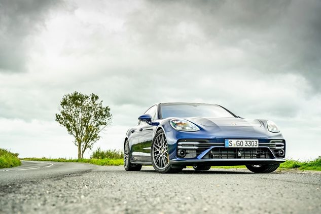 The new Panamera Turbo S