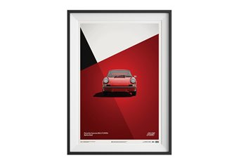 Porsche 911 Carrera 2.7 RS Poster – Red