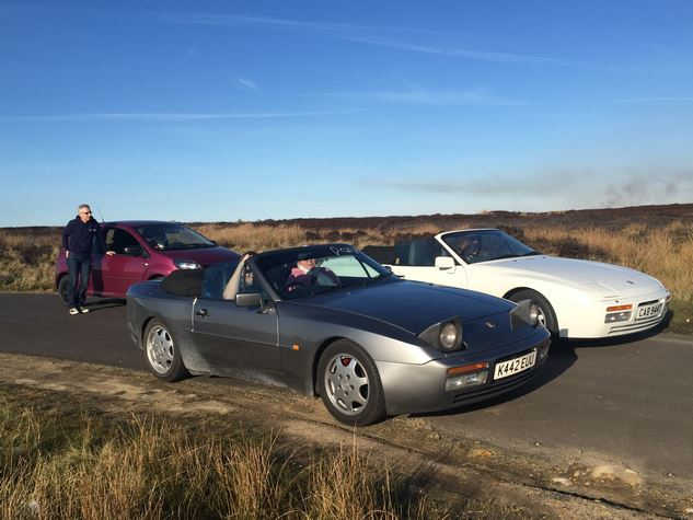 Impromptu Drive to Specialist Cars of Malton March 2017