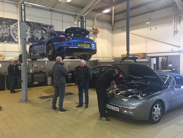 Winter Checks at Porsche Centre Newcastle December 2016