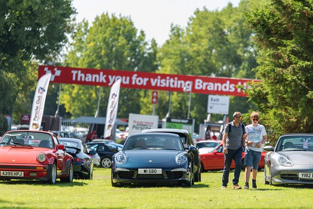 Festival of Porsche returns to Brands Hatch