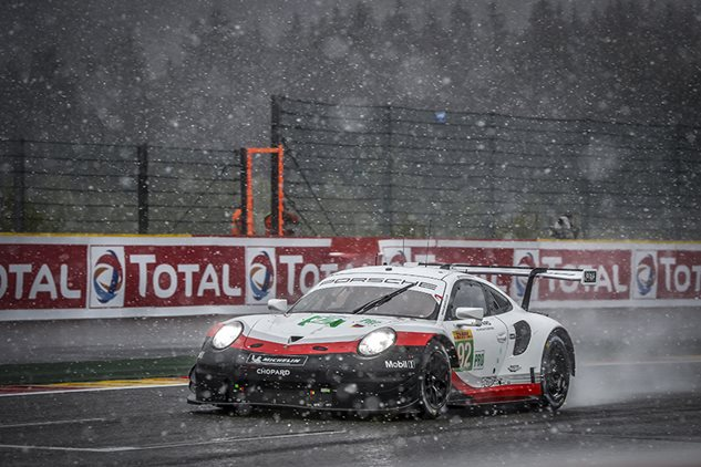 Porsche crowned world champion at Spa