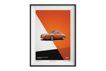 Porsche 911 Carrera 2.7 RS Poster – Orange