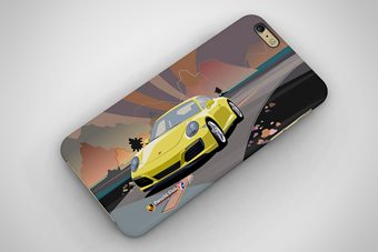 Porsche 911 Carrea S 2017 Phone Case