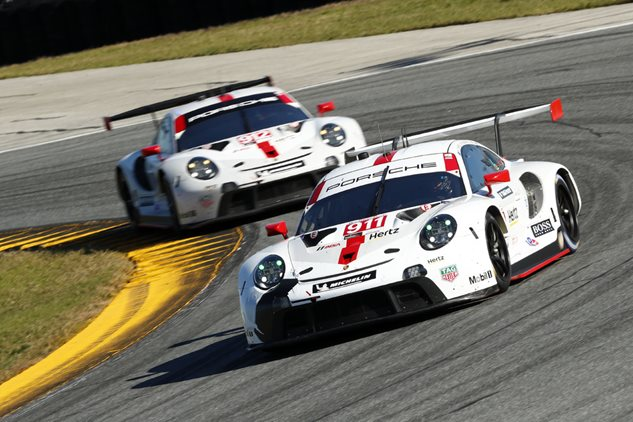 Podium for Porsche at the 24 Hours of Daytona
