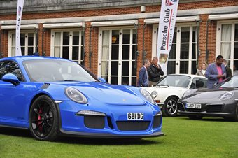 RAC Porsche Club GB Breakfast 'Drive In'