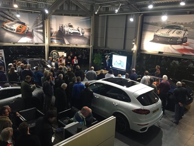 Open Evening at Porsche Centre Newcastle  November 2016