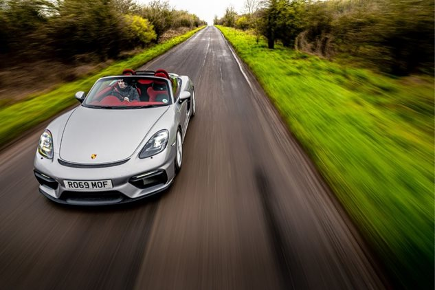 Perfect balance – the new 718 Spyder
