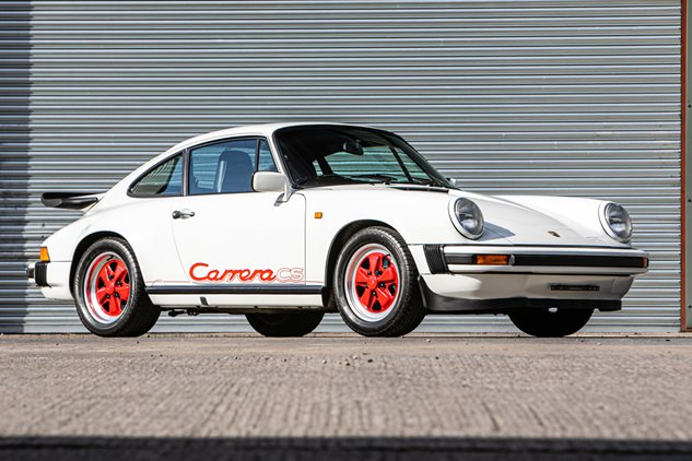 Three rare entries into the sale of Porsche