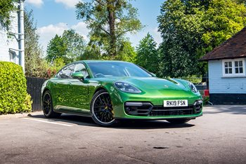 Green Giant – the Panamera GTS