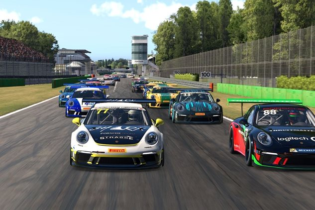 Parkins & Greatorex dominate at Monza