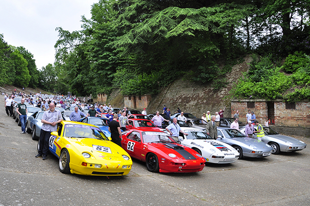928 40th anniversary at Brooklands